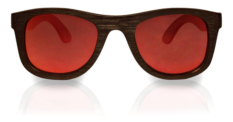 Holzsonnenbrille Overseer Black Rot