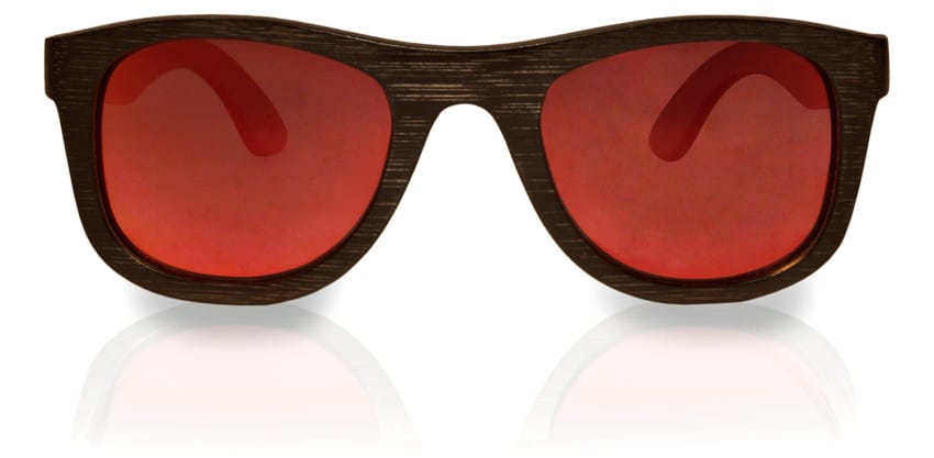 Holzsonnenbrille Overseer Black Rot