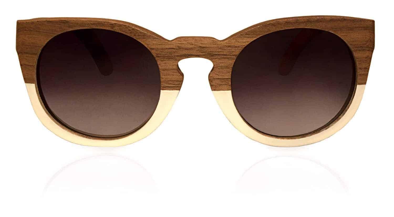 Holzsonnenbrille Sweetheart White Nut