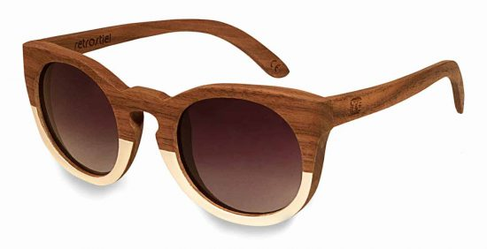 Holzsonnenbrille Sweetheart White Nut