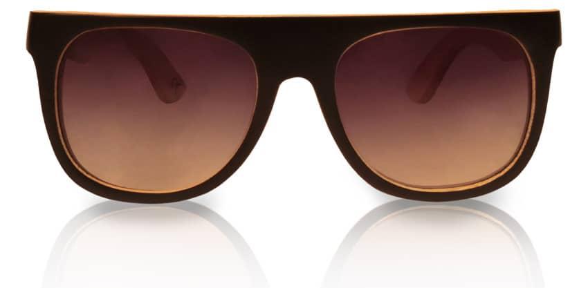 Holzsonnenbrille Daymaker Black & White