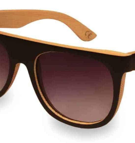 Holz Sonnenbrille Daymaker Black & White
