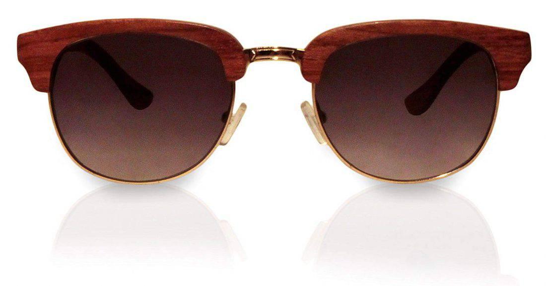 Holzsonnenbrille Highroller Pear