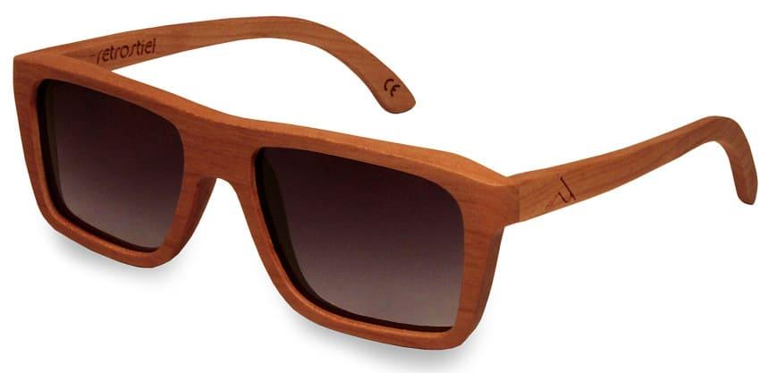 Holzsonnenbrille Driver Cherry