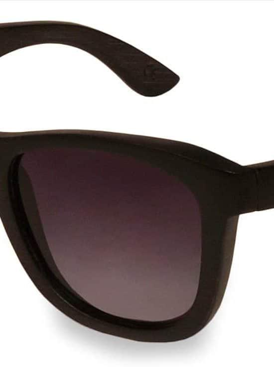 Holzsonnenbrille Overseer Black