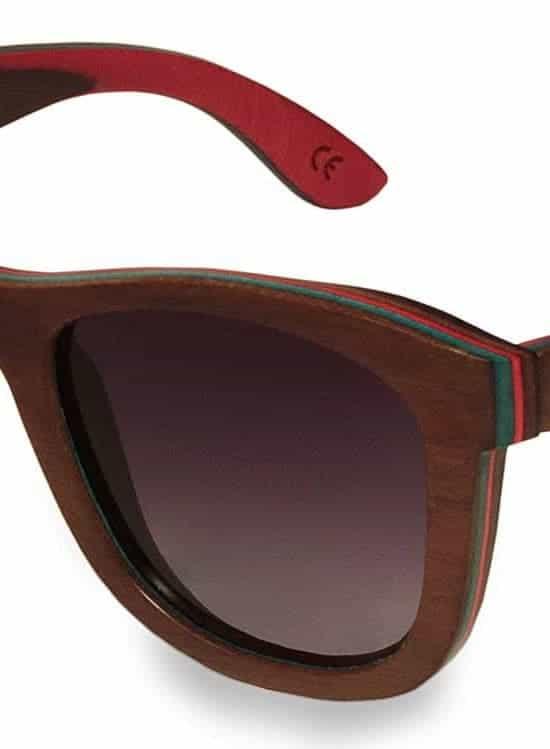 Holzsonnenbrille Skateboard Go