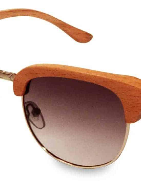 Holzsonnenbrille Highroller Beech