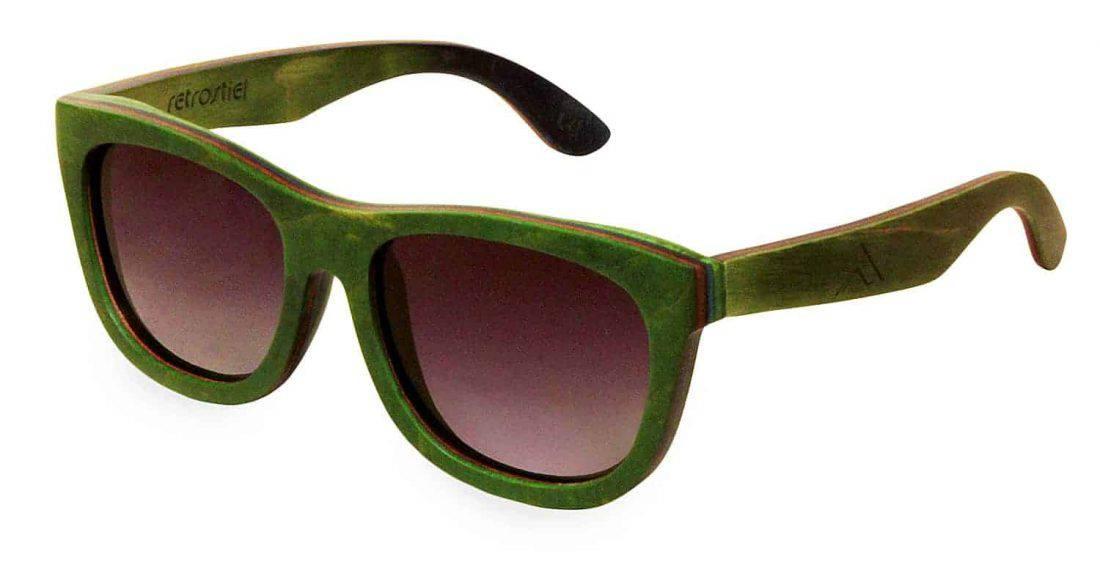 Holzsonnenbrille Skateboard Ramble