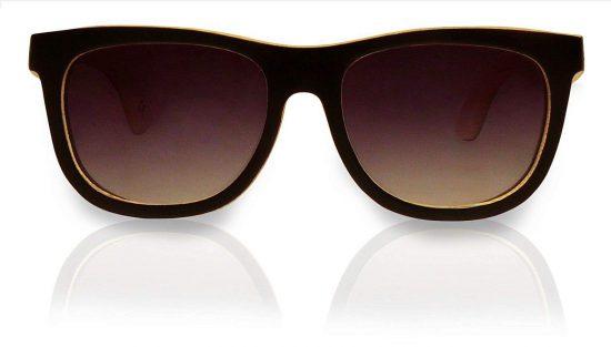 Holzsonnenbrille Overseer Black White