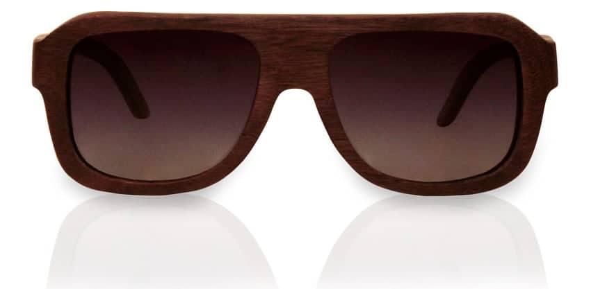 Holzsonnenbrille Aerialist Nut