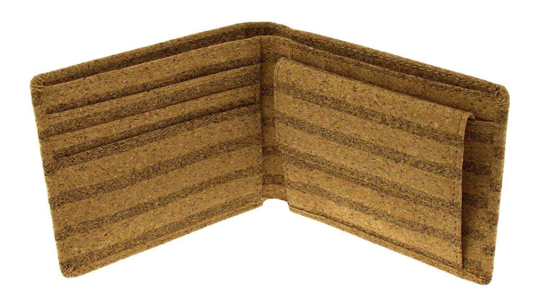 Kork Geldbeutel Striped