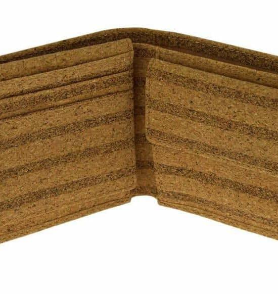 Geldbeutel aus Kork Striped