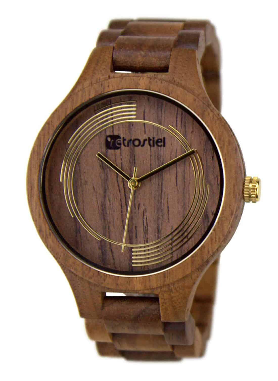 Wooden watch Cyclone Nut