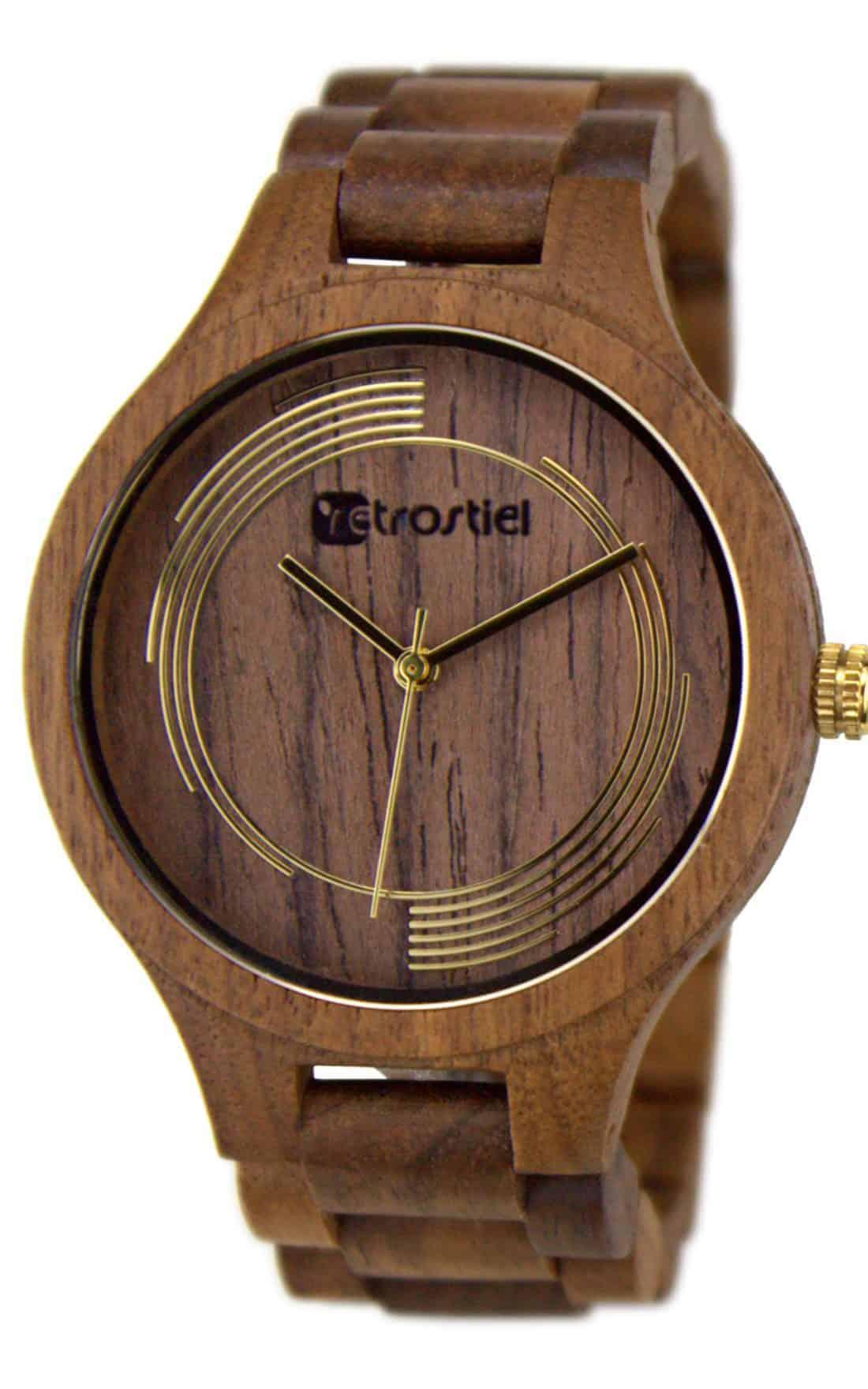 Wooden watch Cyclone Nut