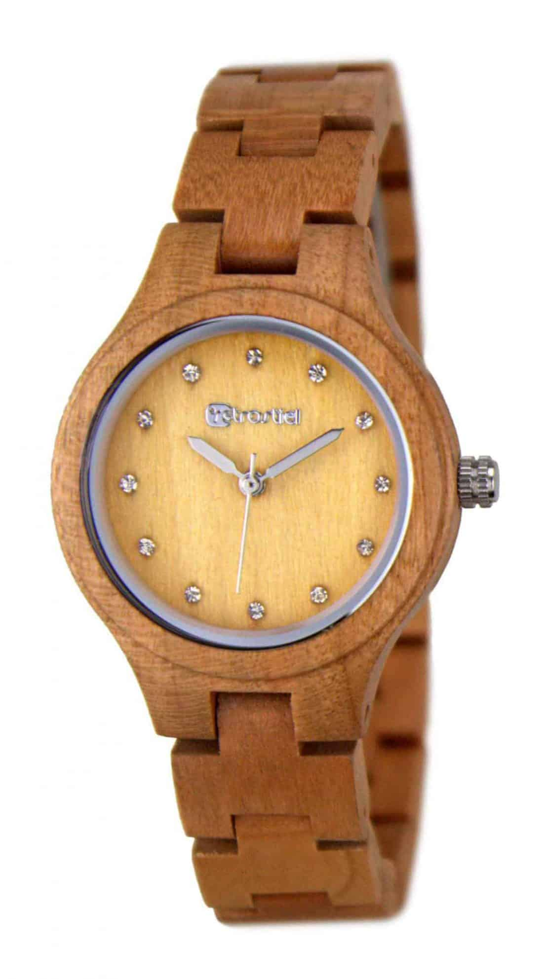 wooden watch Imperia Cherry