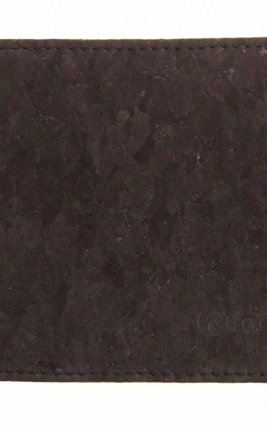 Kork Geldbeutel Black