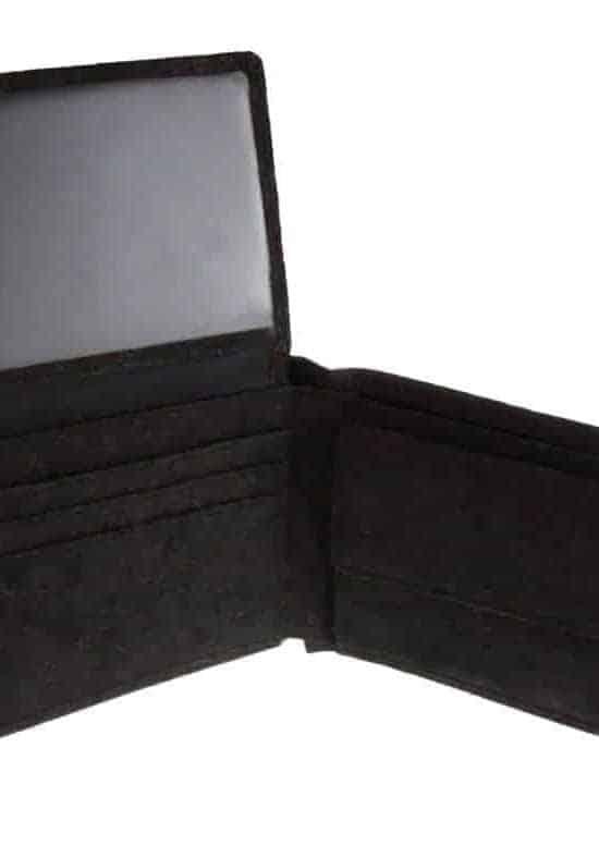 Geldbeutel aus Kork Black Deluxe