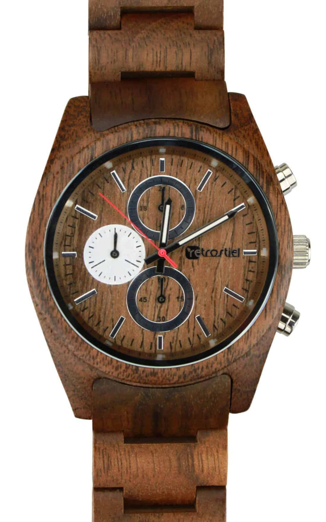Wooden watch - Niagara Nut