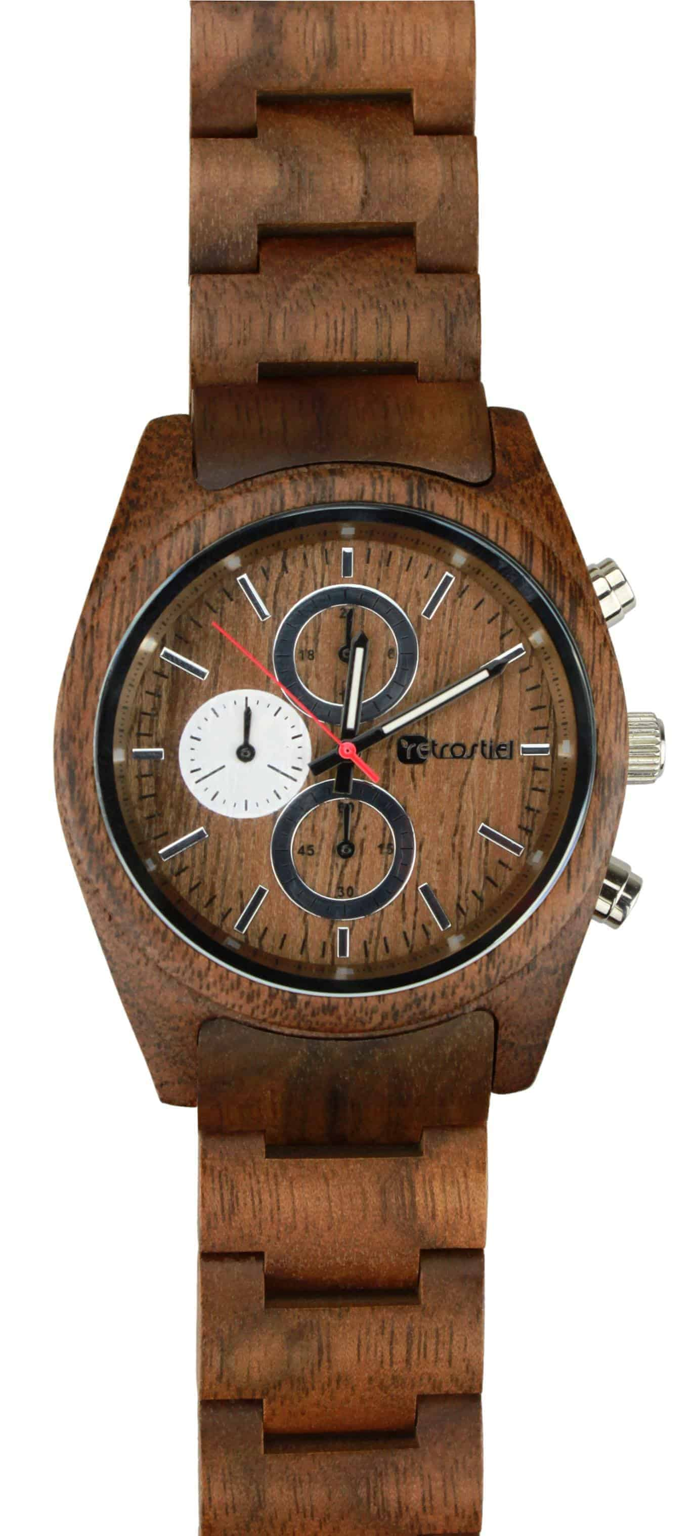 Armbanduhr aus Holz - Niagara Nut