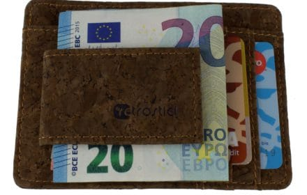 Cork moneyclip (Hazel)