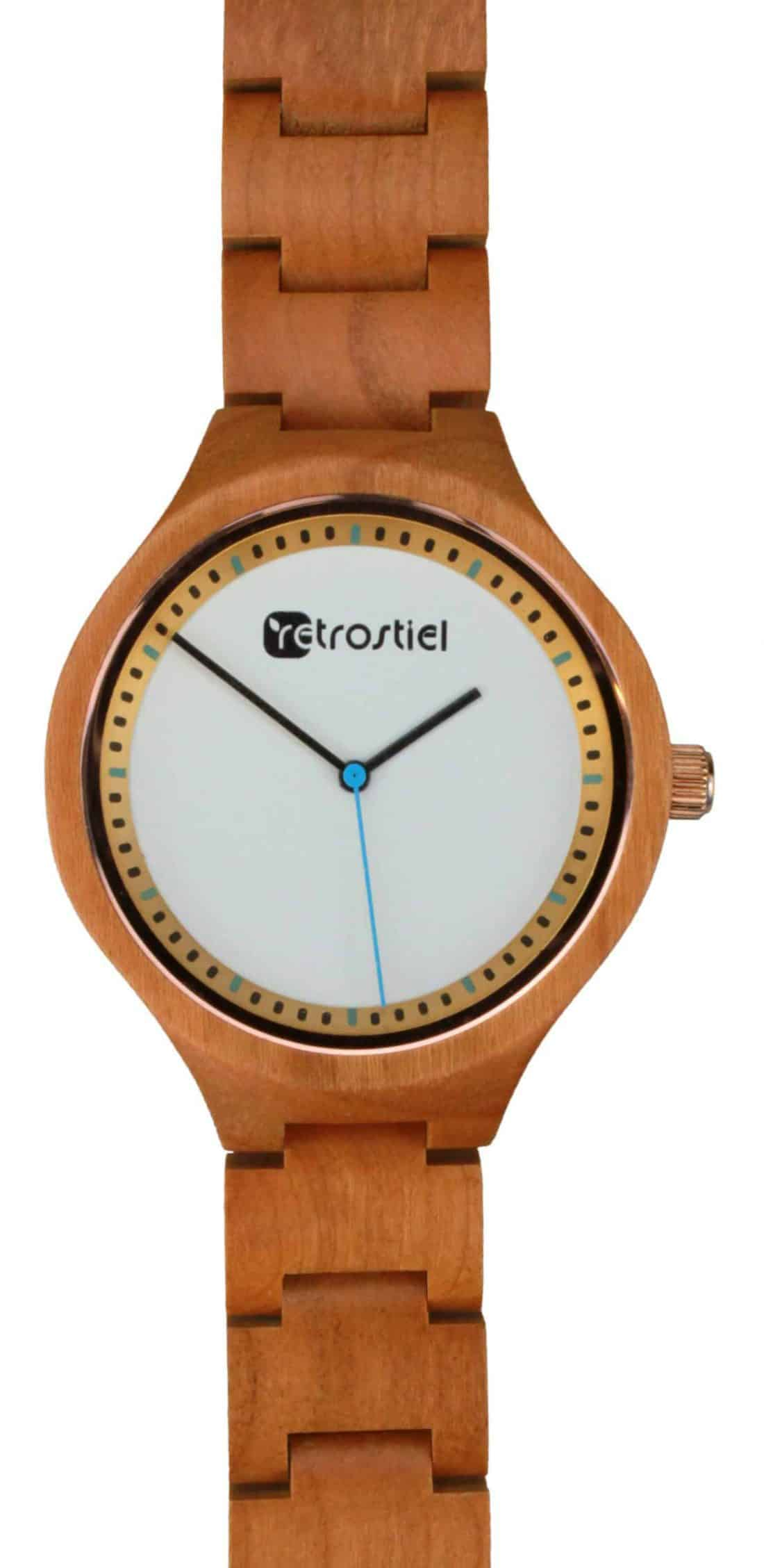 Wooden Watch - Arctic Cherry