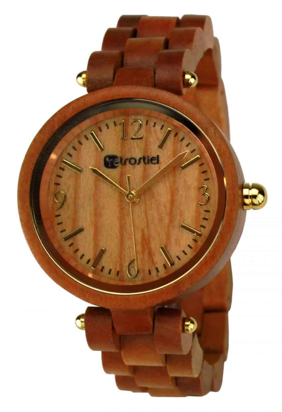 Wooden Watch - Venezia Cherry
