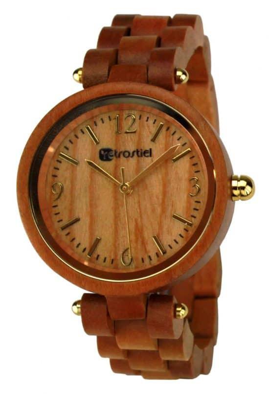 Armbanduhr aus Holz - Venezia Cherry