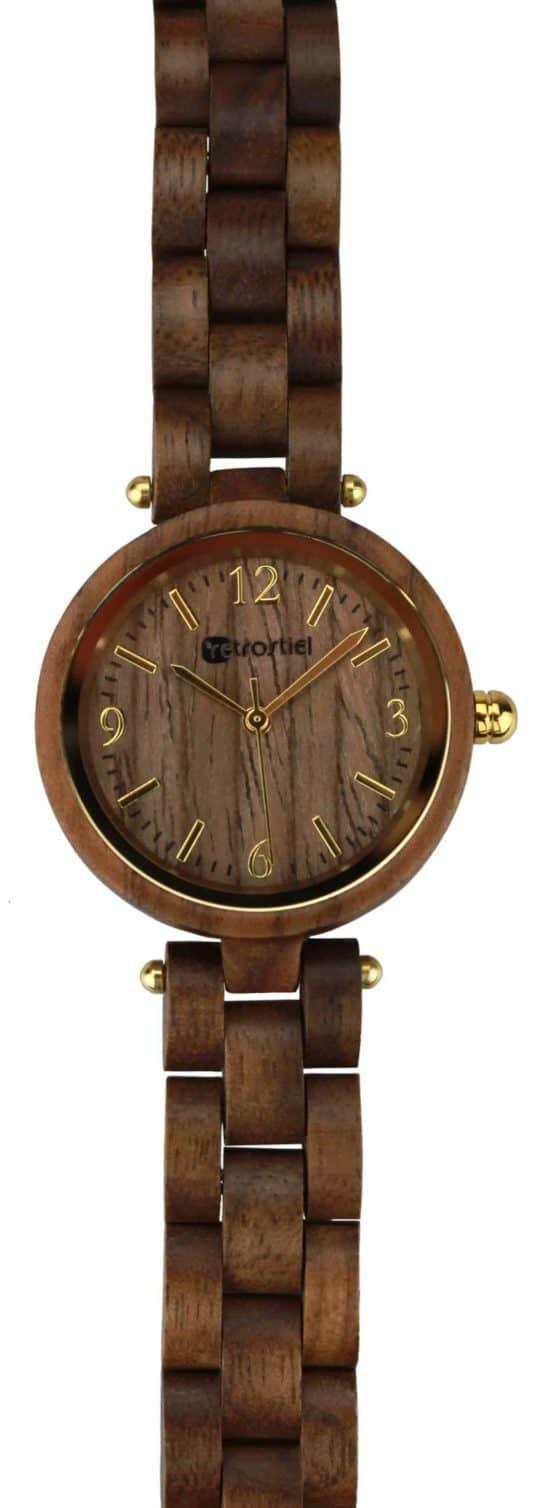 Armbanduhr aus Holz - Venezia Nut