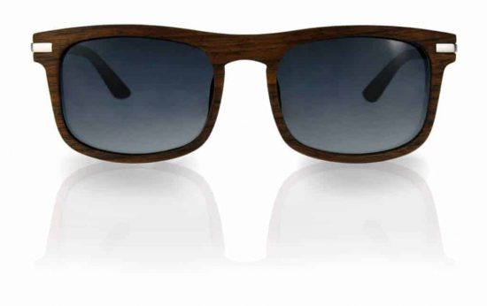 Sonnenbrille aus Holz Driver Chrome