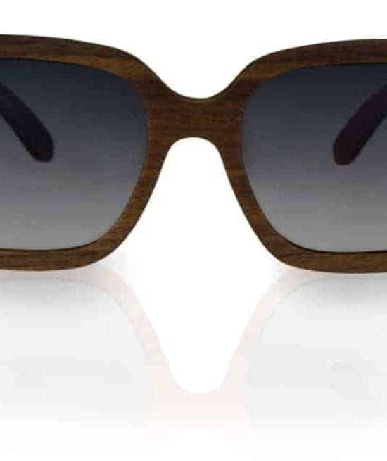 Holz Sonnenbrille Lady Nut