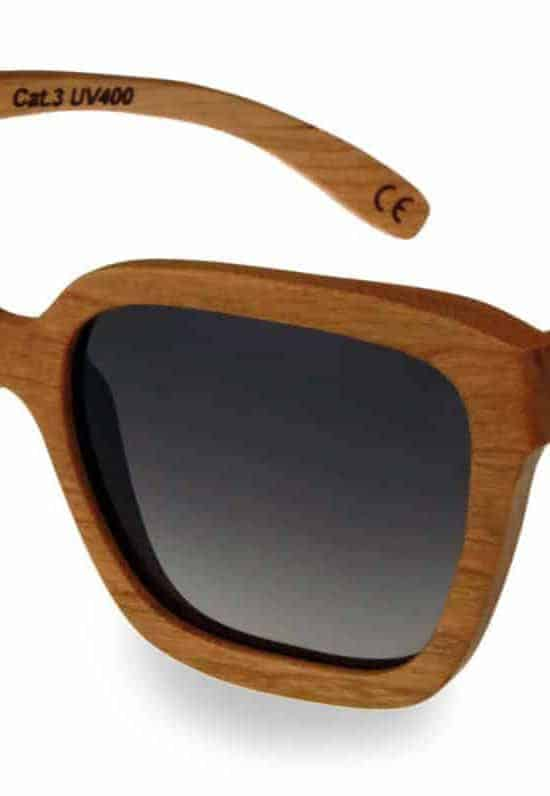 Holz Sonnenbrille Lady Cherry