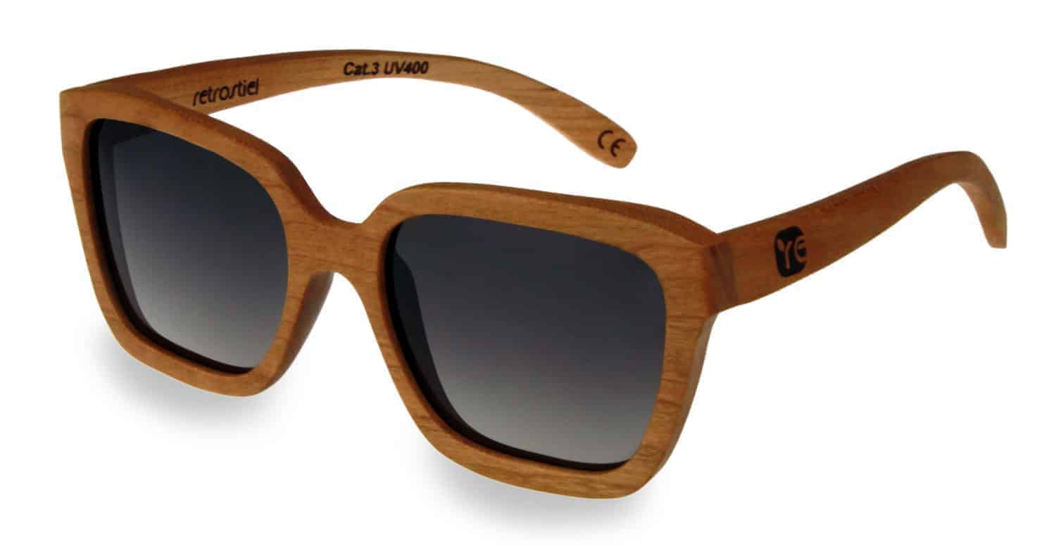 Holzsonnenbrille Lady Nut