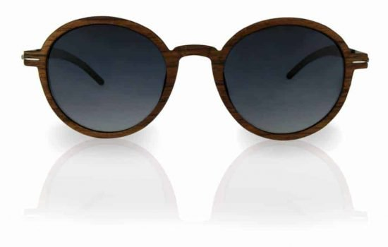 Holz Sonnebrille Lennon Nut brown