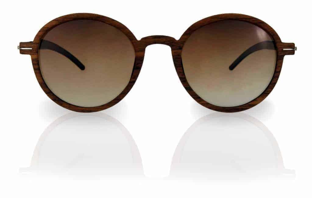 Holz Sonnenbrille Lennon Nut brown