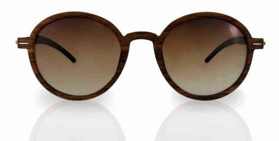 Sonnnebrille aus Holz Lennon