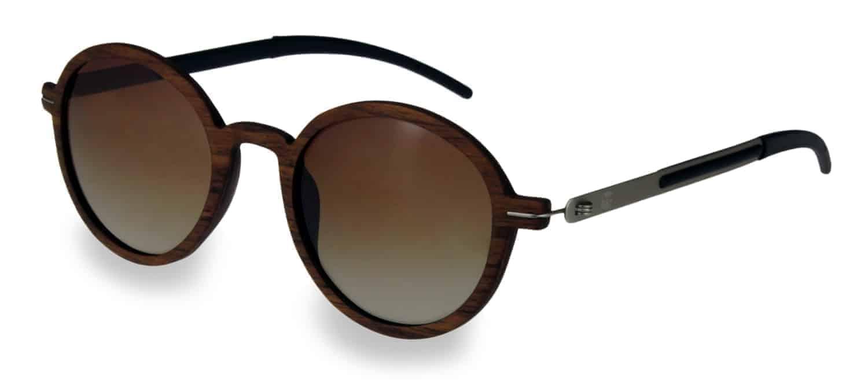 Sonnenbrille aus Holz Lennon Nut