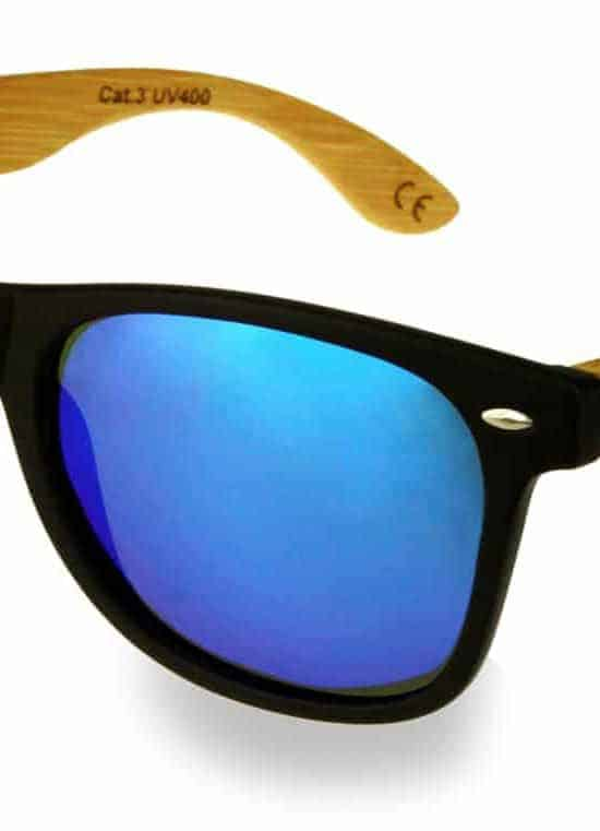 Holzsonnenbrille Overseer Fusion (Blue)