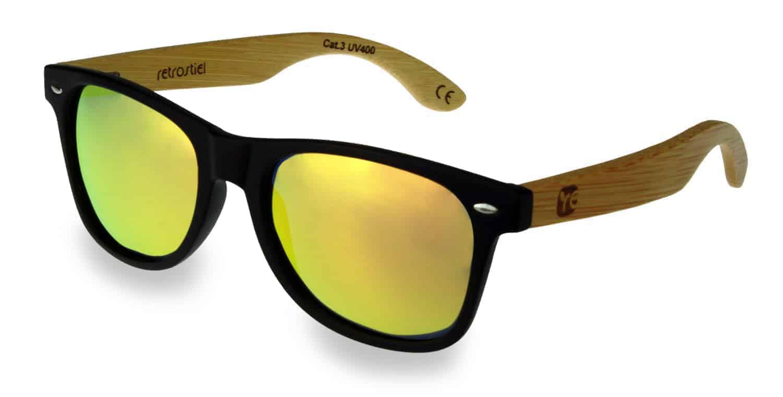 Holz Sonnenbrille Overseer Black & White 9REfB