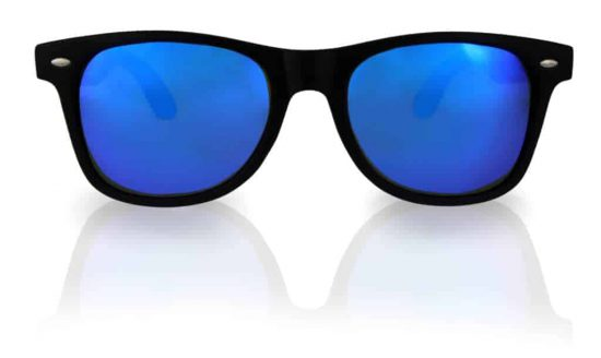 Holz Sonnenbrille Overseer Fusion Blue