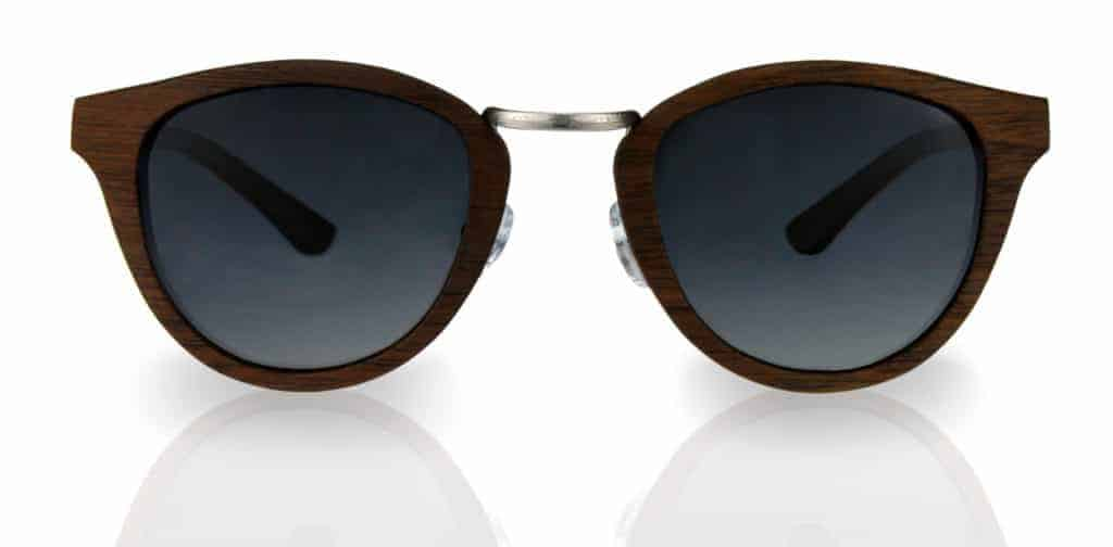 Sonnenbrille aus Holz Sweetheart Chrome