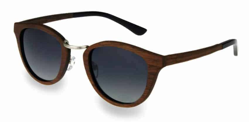 Holzsonnenbrille Sweetheart Chrome