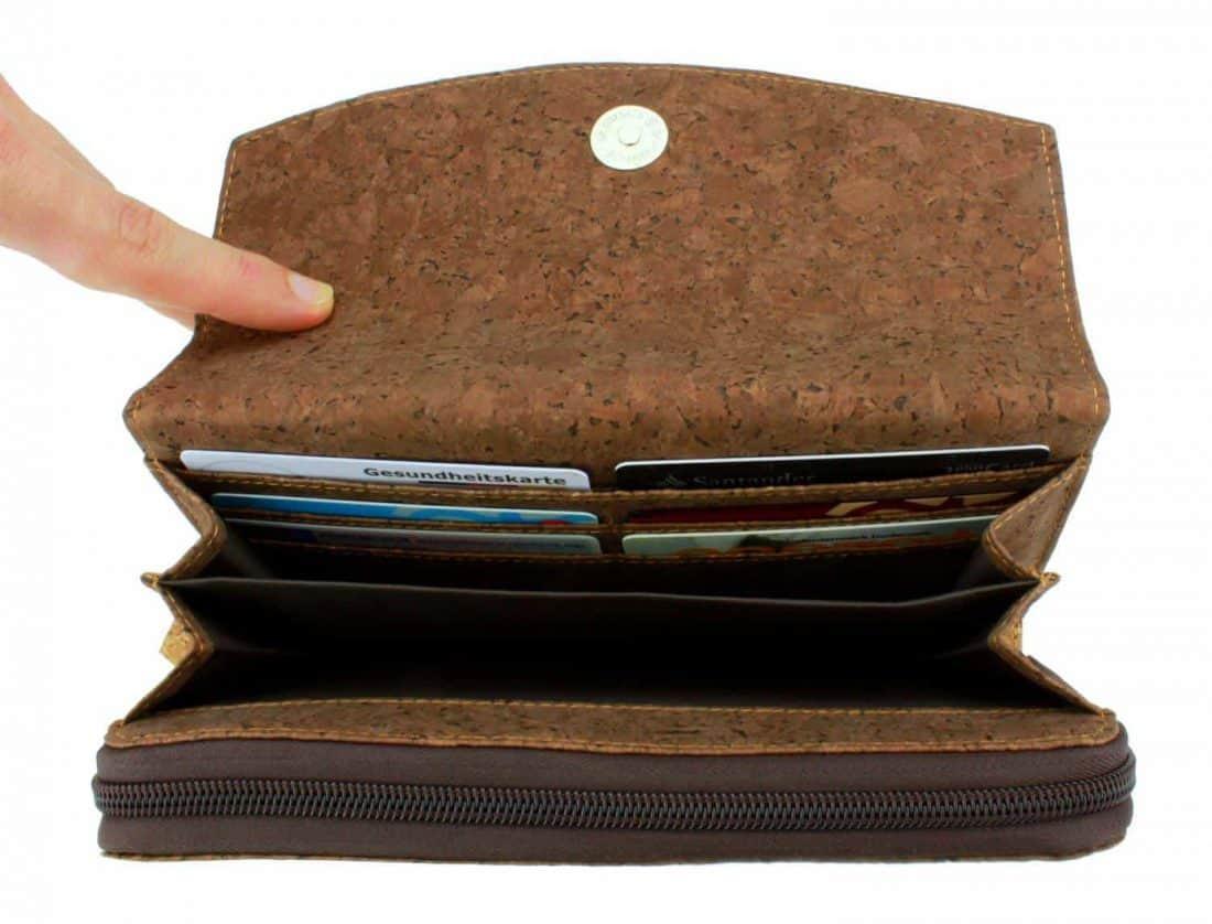 Kork Geldbörse Deluxe
