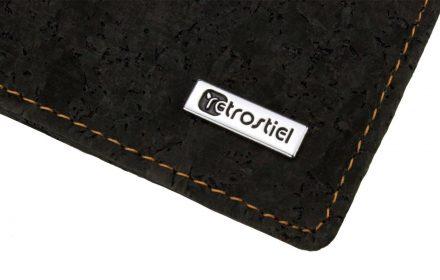 Cork Wallet Black & White Logo