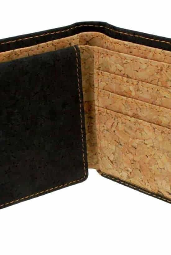 Cork Wallet Black & White