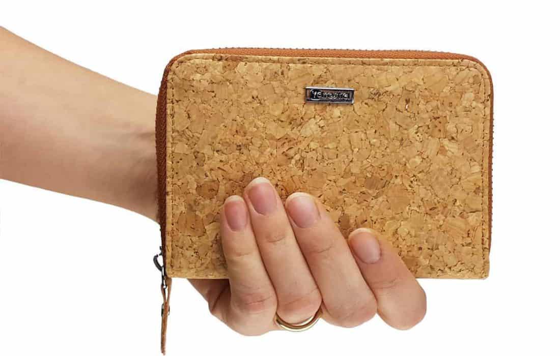 Geldbeutel aus Kork Mini Hand
